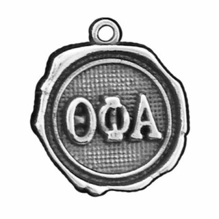 Theta Phi Alpha Silver Impressions Charm
