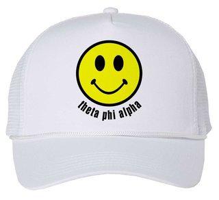 Theta Phi Alpha Smiley Face Trucker Hat