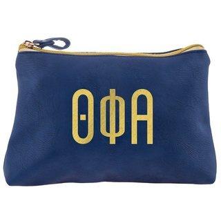 Theta Phi Alpha Sorority Cosmetic Bag