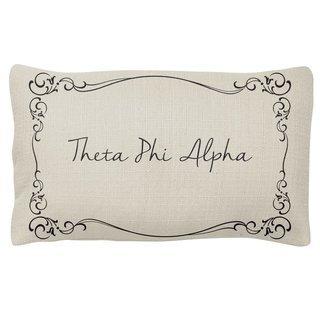Theta Phi Alpha Sorority Lumbar Pillows