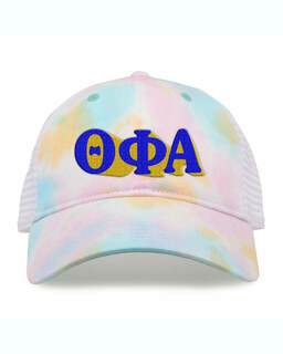 Theta Phi Alpha Sorority Sorbet Tie Dyed Twill Hat