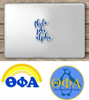 Theta Phi Alpha Sorority Sticker Collection - SAVE!