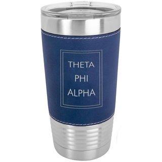Theta Phi Alpha Sorority Leatherette Polar Camel Tumbler