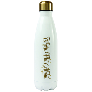 Theta Phi Alpha Stainless Steel Shimmer Water Bottles