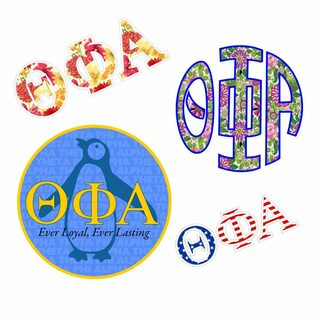 Theta Phi Alpha Sticker Grab Bag