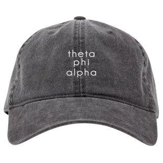 Theta Phi Alpha Stonewashed Cotton Hats