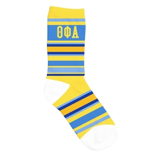 Theta Phi Alpha Striped Crew Socks