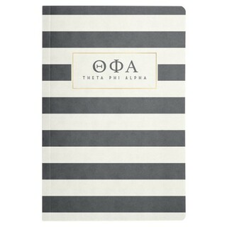 Theta Phi Alpha Striped Notebooks