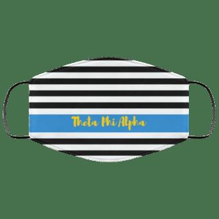 Theta Phi Alpha Stripes Face Mask