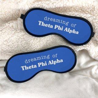 Theta Phi Alpha Sweet Dreams Eye Mask