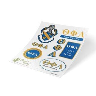 Theta Phi Alpha Traditional Sticker Sheet