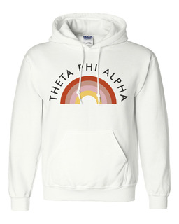 Theta Phi Alpha Rainbow Hoodie