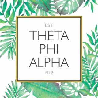Theta Phi Alpha Tropical Sticker Decal