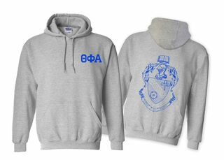Theta Phi Alpha World Famous Crest Hooded Sweatshirt- $35!