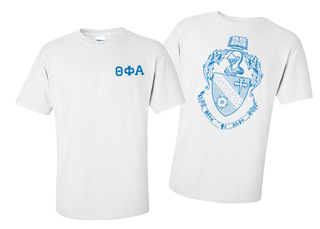 Theta Phi Alpha World Famous Crest - Shield Tee