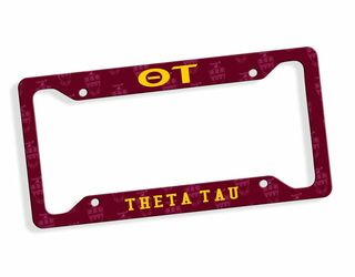 Theta Tau Car Merchandise & License Plate Frames