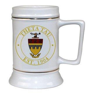 Theta Tau Ceramic Stein