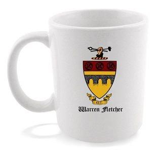 Theta Tau Crest - Shield Coffee Mug