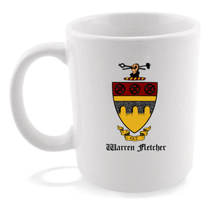 Theta Tau Crest - Shield Coffee Mug