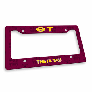 Theta Tau Custom License Plate Frame