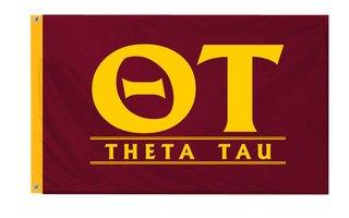 Theta Tau Custom Line Flag