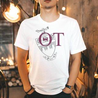 Theta Tau Greek Crest - Shield T-Shirt