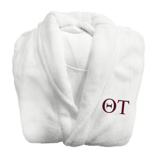 Theta Tau Lettered Bathrobe