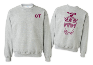 Theta Tau World Famous Greek Crewneck