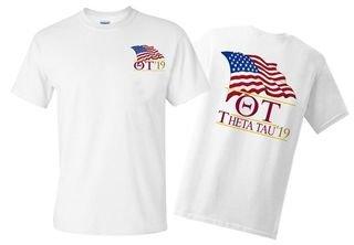 Theta Tau Patriot Limited Edition Tee- $15!