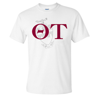 Theta Tau World Famous Crest - Shield Tee