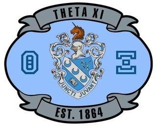Theta Xi Banner Crest - Shield Decal