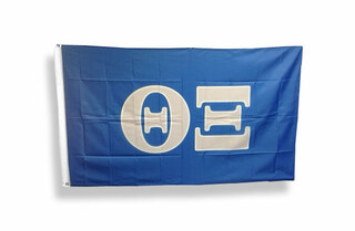 Theta Xi Big Greek Letter Flag