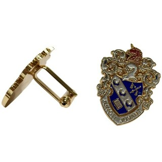Theta Xi Color Crest - Shield Cuff links