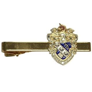 Theta Xi Color Crest - Shield Tie Clips