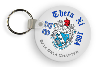 Theta Xi Color Keychains