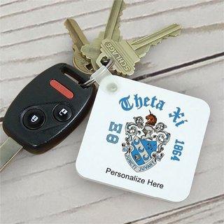Theta Xi Color Keychains