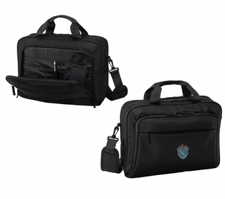 DISCOUNT-Theta Xi Crest - Shield Briefcase Attache