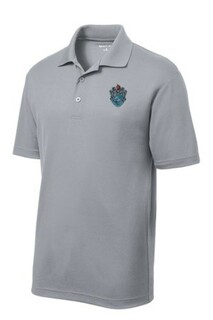 DISCOUNT-Theta Xi Crest - Shield Emblem Polo