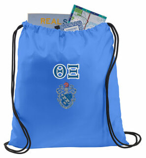 Theta Xi Crest - Shield Cinch Sack