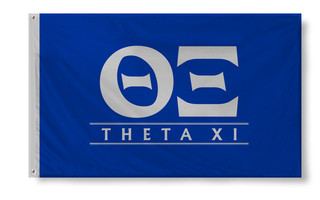 Theta Xi Custom Line Flag