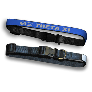 Theta Xi Dog Collar