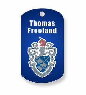 Theta Xi Dog Tags