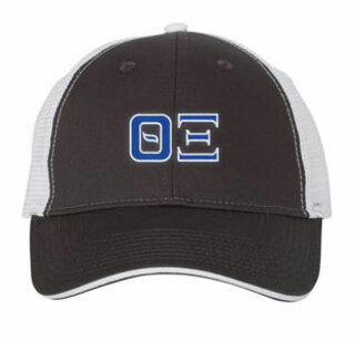 Theta Xi Double Greek Trucker Cap