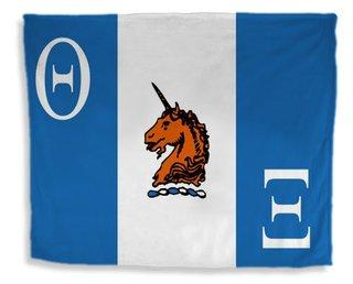 Theta Xi Flag Giant Velveteen Blanket