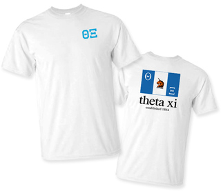 Theta Xi Flag T-Shirt
