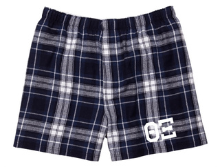 Theta Xi Flannel Boxer Shorts