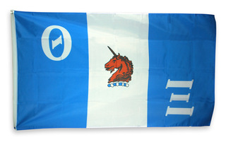 Theta Xi Giant 3 x 5 Flag