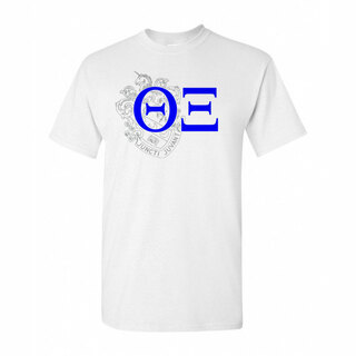 Theta Xi Greek Crest - Shield T-Shirt
