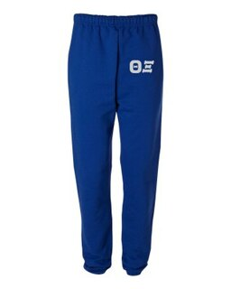 Theta Xi Greek Lettered Thigh Sweatpants