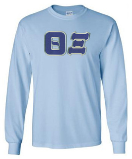 Theta Xi Lettered Long Sleeve Shirt